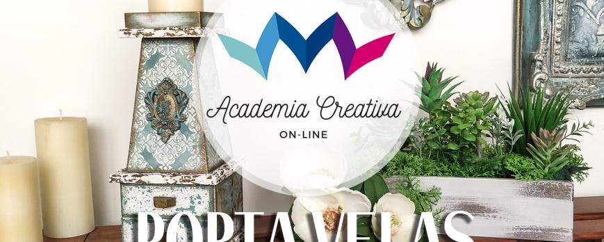 Academia Creativa - Porta Velas