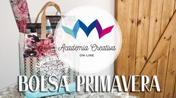 Academia Creativa - Bolsa Primavera