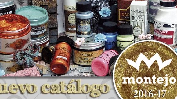 Nuevo Catálogo ARTESANIAS MONTEJO 2016-17